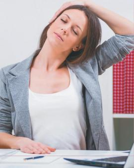 Комплекс упражнений для рабочего места: растяжка мышц (стретчинг)