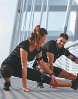 Комплекс упражнений для разминки перед бегом: растяжка мышц
